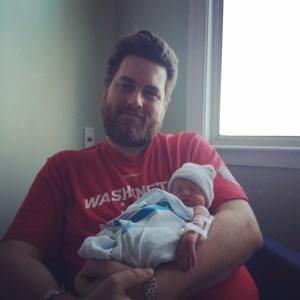 Harper M & daddy