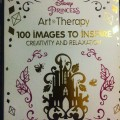 Disney art Therapy coloring book