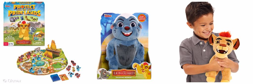 Assorted Lion Guard Toys