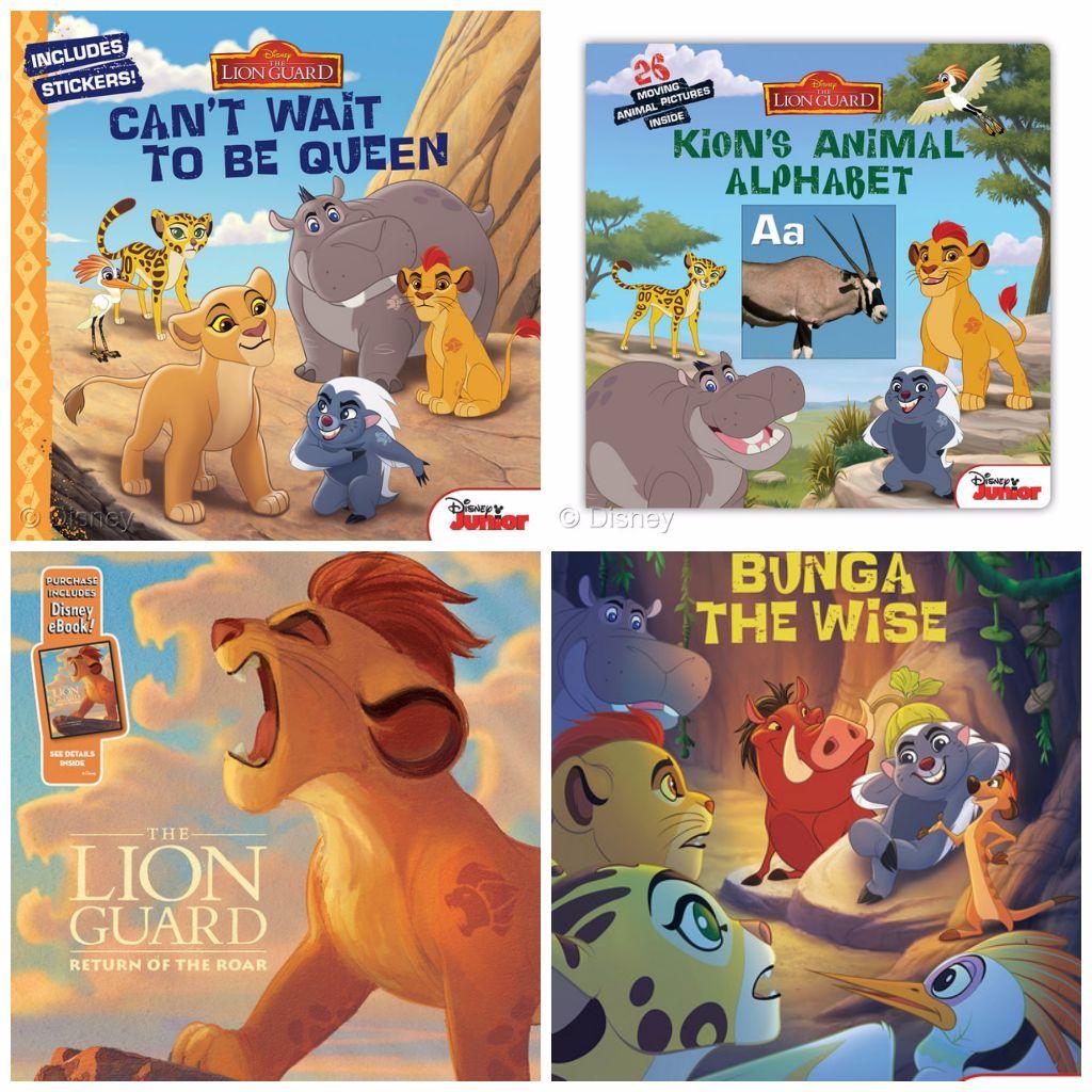 Lion Guard Book Assortment