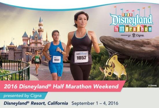 Disneyland 2016 Half Marathon rundisney