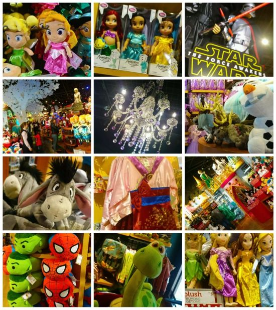 Disney Store Sights - Wordless Wednesday