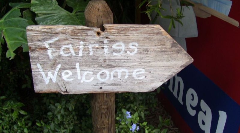 Fairies Welcome - Flower & Garden Festival - Throwback Thursday