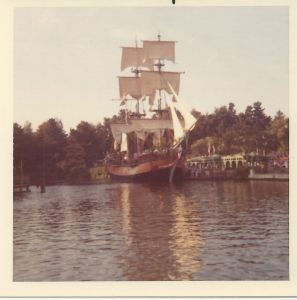 Disneyland's Sailing Ship Columbia, 1973 - Throwback Thursday