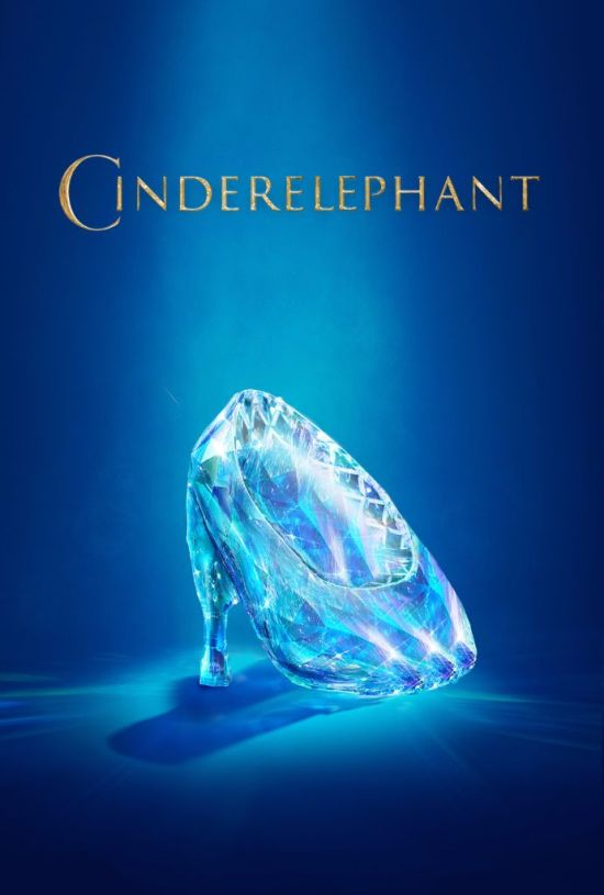 zootopia poster cinderelephant