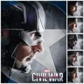 Team Cap - Captain America Civil War collage