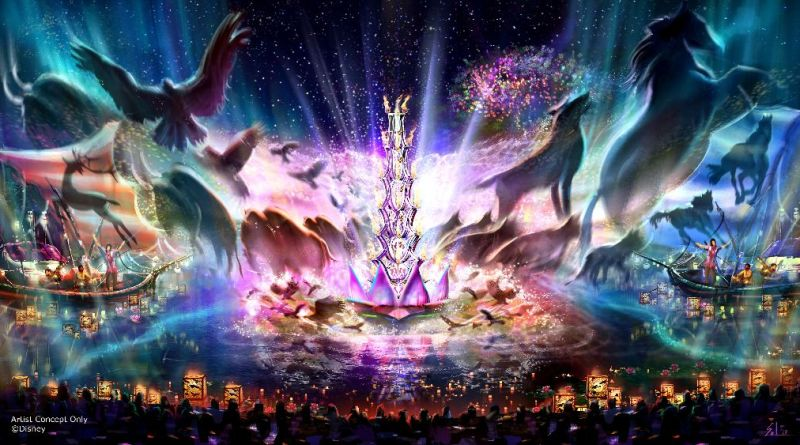 rivers of light art