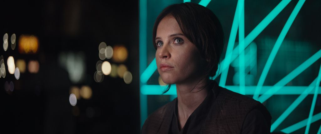 Rogue One: A Star Wars Story(Felicity Jones)Ph: Film Frame©Lucasfilm LFL