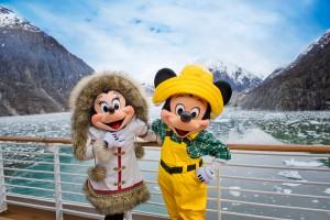 DCL Alaska Disney Cruise Line Mickey & Minnie
