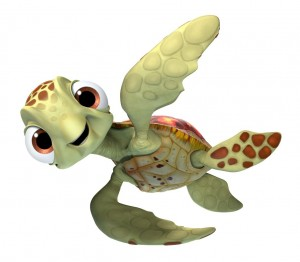 FINDING DORY - Squirt