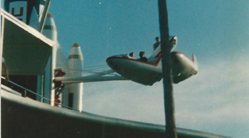 Tomorrowland Star Jets -Magic Kingdom Throwback Thursday