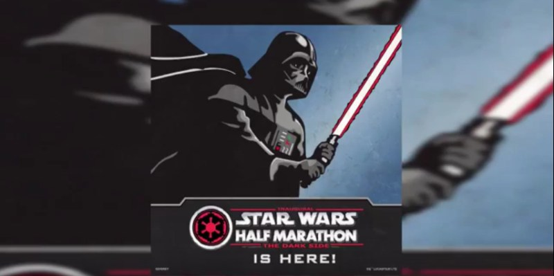 runDisney's Inaugural Star Wars Half Marathon Weekend - The Dark Side 2016