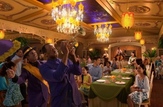 Disney Cruise Line - Tiana's Restaurant - Disney Wonder
