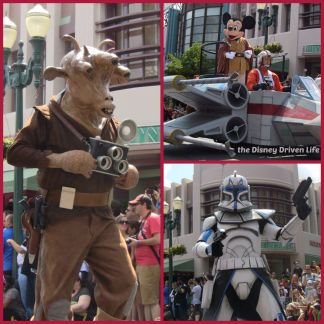 star wars weekends collage - throwback thursday