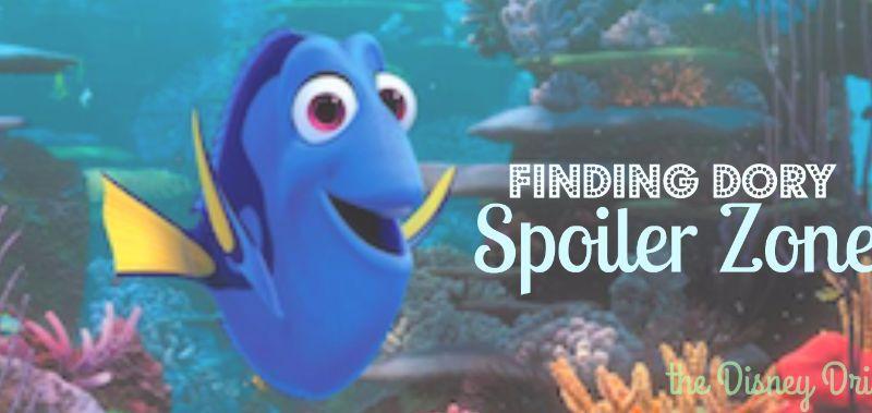 Finding Dory Spoiler Zone