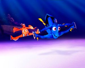 Nemo and Marlin - Disney on Ice