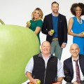 DAPHNE OZ, MARIO BATALI, CLINTON KELLY, MICHAEL SYMON, CARLA HALL - the chew