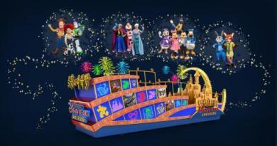 Shanghai Disney Resort New Parade Float_2016