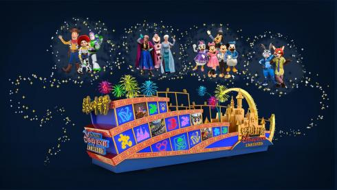 Shanghai Disney Resort New Parade Float_2016