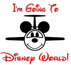 going to disney world