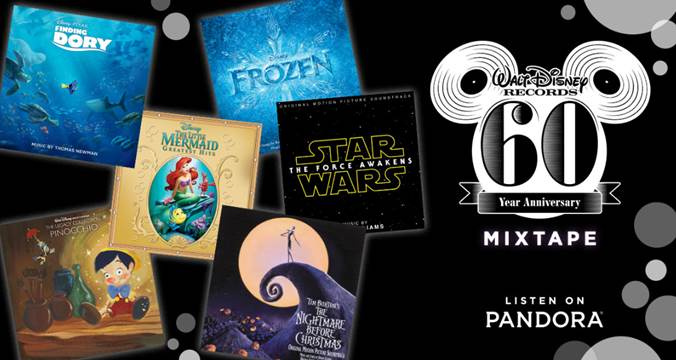 Walt Disney Records 60th Anniversary