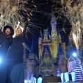 Trisha Yearwood, Garth Brooks, Cinderella Castle, Disney Parks Christmas Celebration