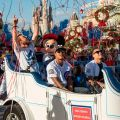 World championship players celebrate historic win at Walt Disney World