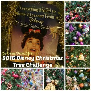 the Disney Driven Life 2016 Disney Christmas Tree Challenge
