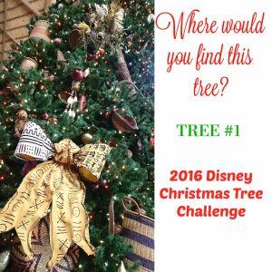 Tree #1 the Disney Driven Life 2016 Disney Christmas Tree Challenge