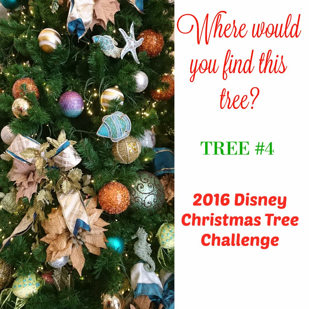 Tree #4 the Disney Driven Life 2016 Disney Christmas Tree Challenge