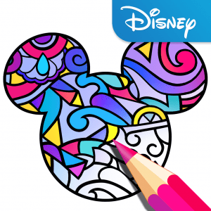Color by Disney App