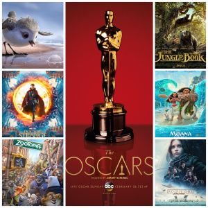 Disney Oscar Nominations 2017