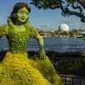 snow white flower garden festival spaceship earth
