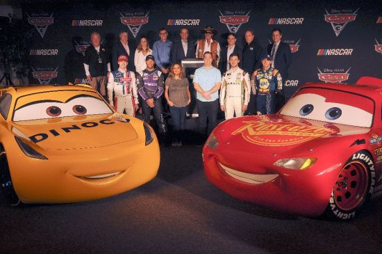 Cars 3 - NASCAR Collaboration Announcement