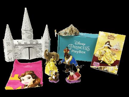 Disney Princess monthly box from pley