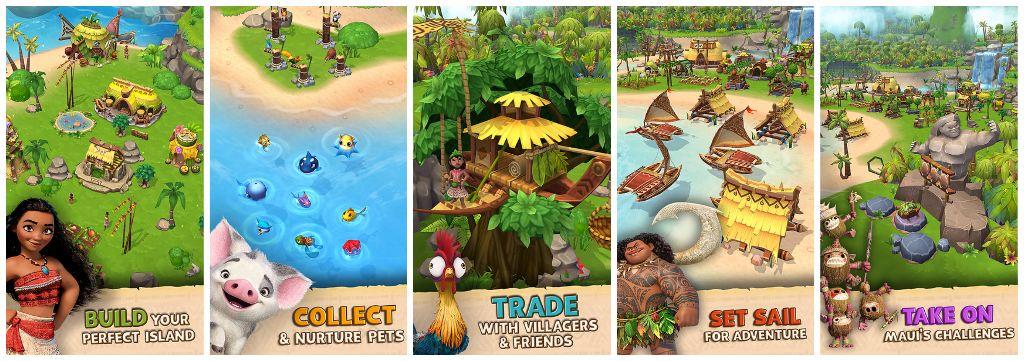Moana Island Life Screenshots
