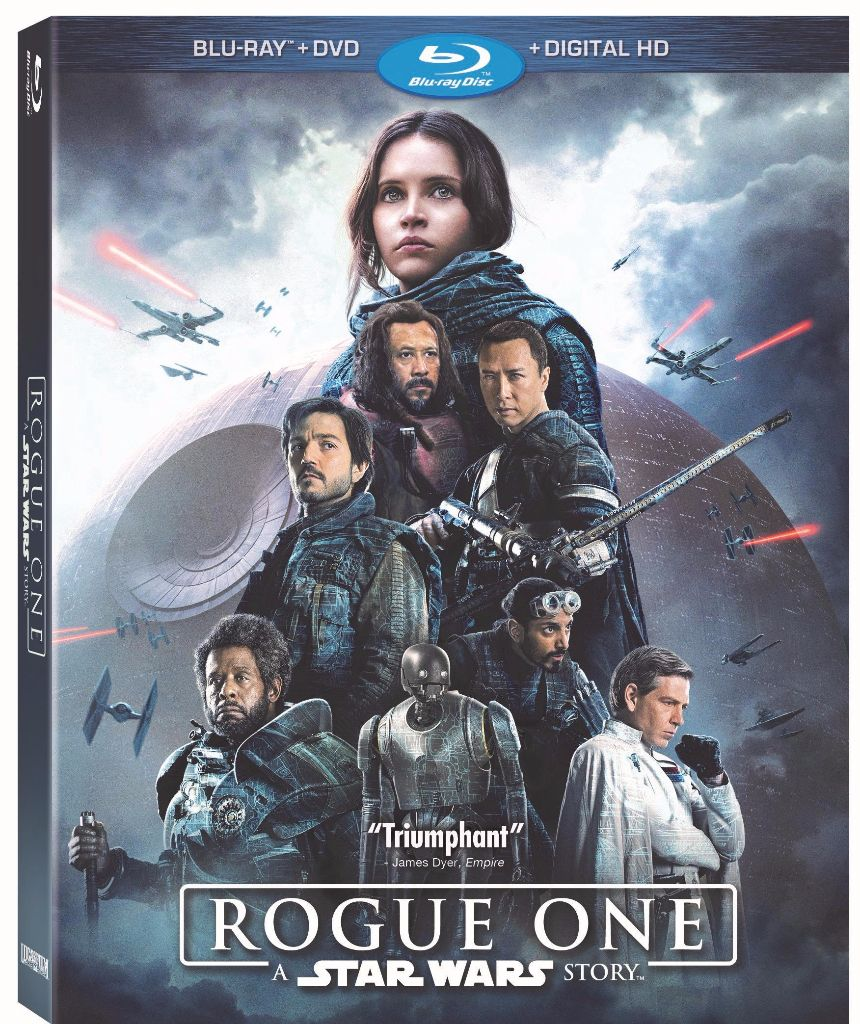Rogue One A Star Wars Story Bluray Combo