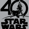 Star Wars 40th Anniversary Logo