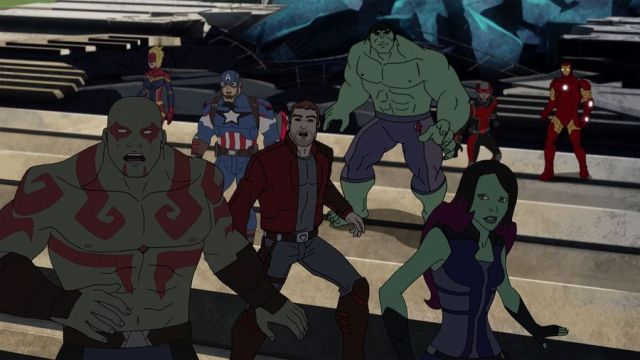 guardians of the galaxy disney xd