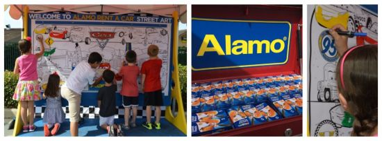Cars 3 Road to the Races Tour Alamo Rent A Car