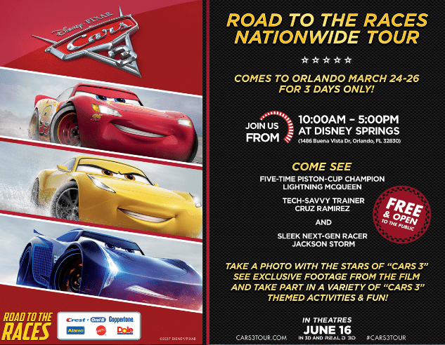 Cars 3 Road to the Races