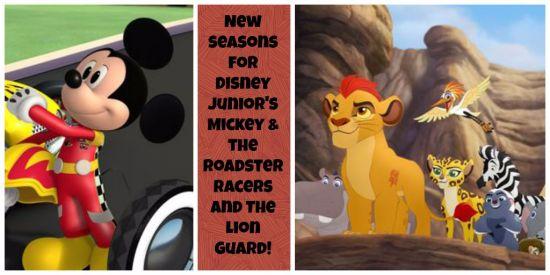 Mickey & Lion Guard New Seasons Disney Junior