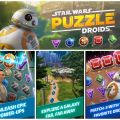 Star Wars Puzzle Droids Collage