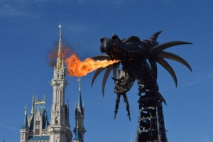 There's a Dragon in the Kingdom - Wordless Wednesday