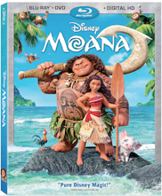 Moana BluRay DVD