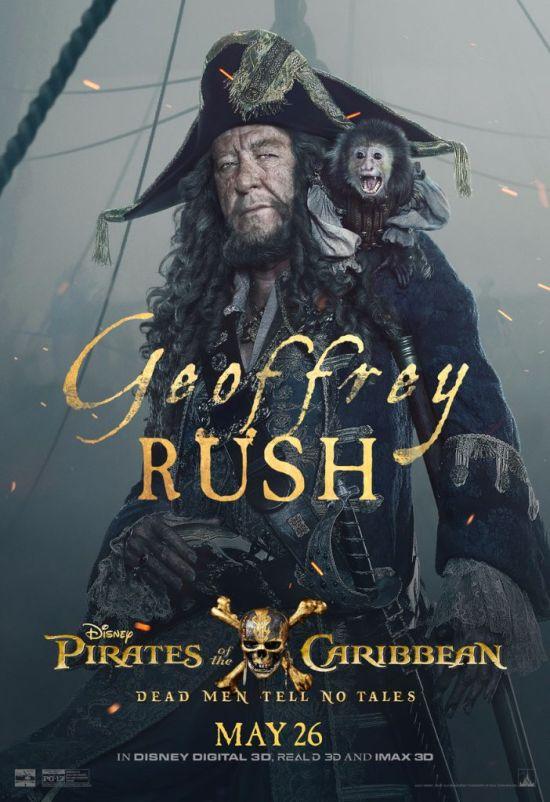 Pirates of the Caribbean 5 Barbossa
