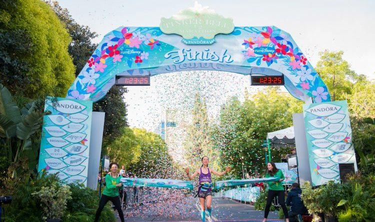 2017 runDisney Tink Half winner