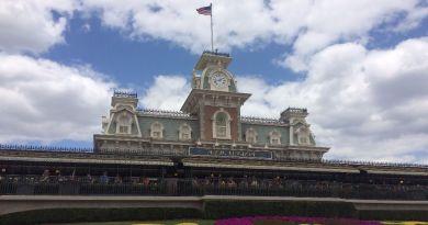 Magic Kingdom Train Station Wordless Wednesday