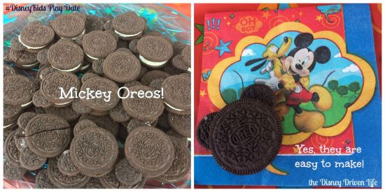 Mickey Oreos #DisneyKids play date Disney Driven Life
