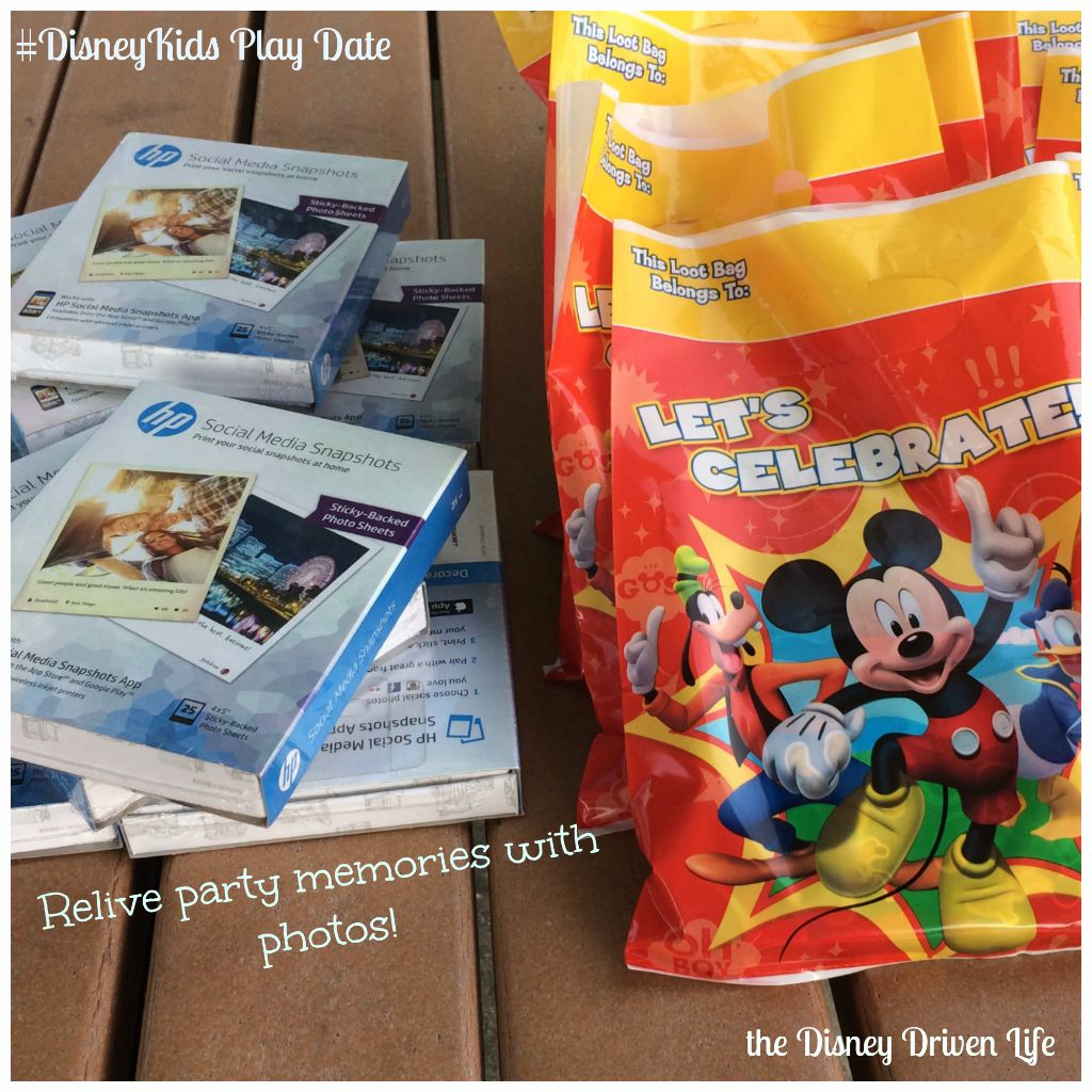 Relive Party Memories #DisneyKids Play Date Disney Driven Life